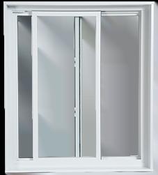 Fenêtre coulissante fabrication duo aluminium et pvc